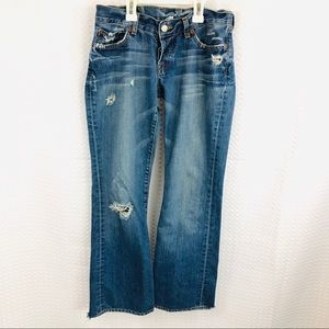 Lucky Brand flare jeans! Size 2/26
